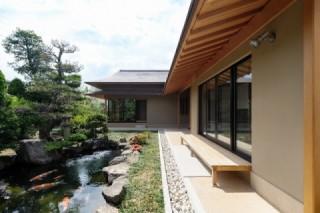 中野市 注文住宅 庭を楽しむ和風の家